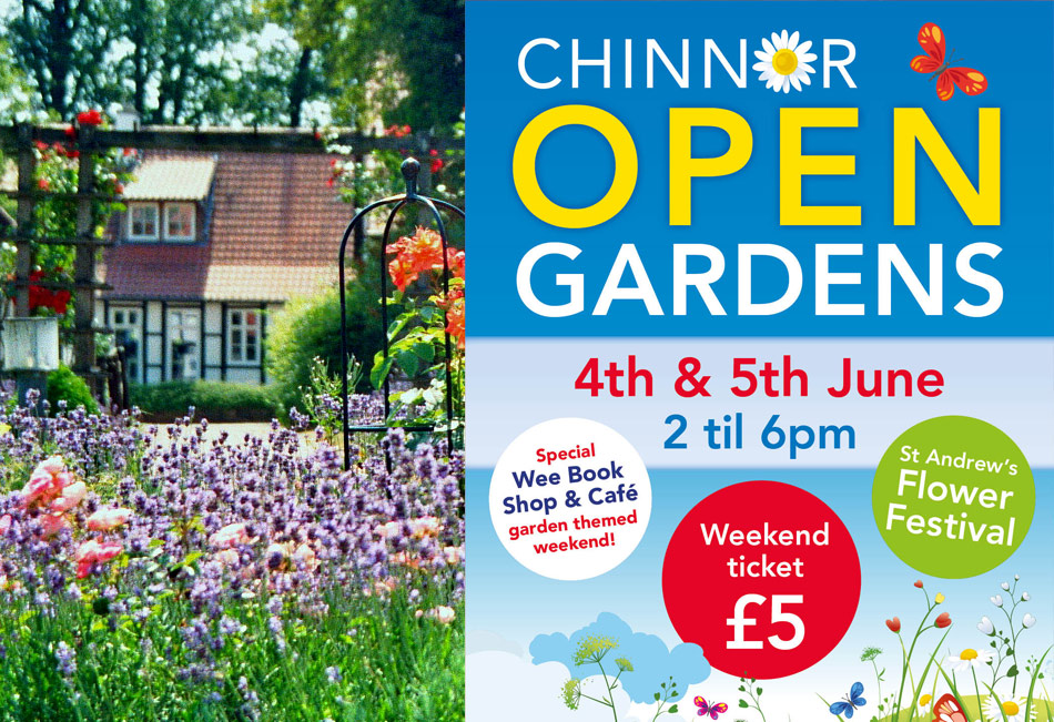 Open Gardens in Chinnor, Oxon.  4th & 5th June