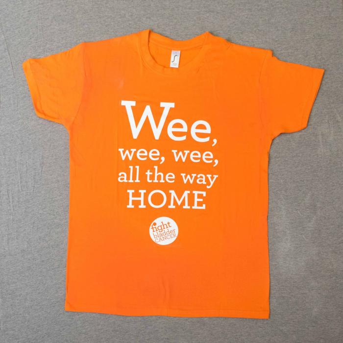 Ladies Wee-Wee-Wee T-Shirt Orange