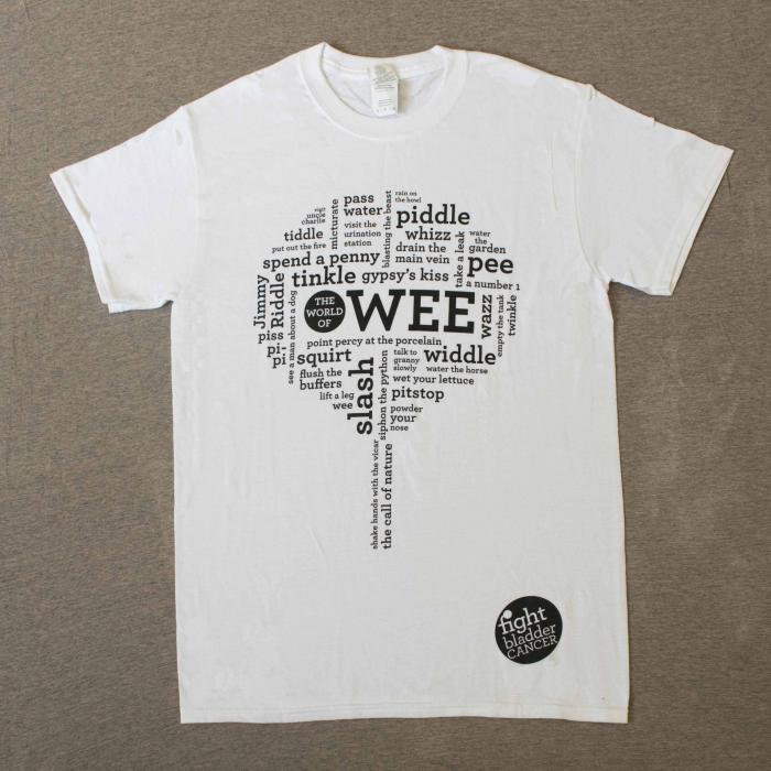Men's World of Wee T-Shirt White