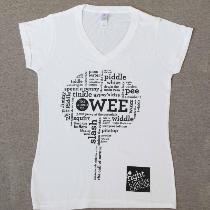Ladies World of Wee T-Shirt White