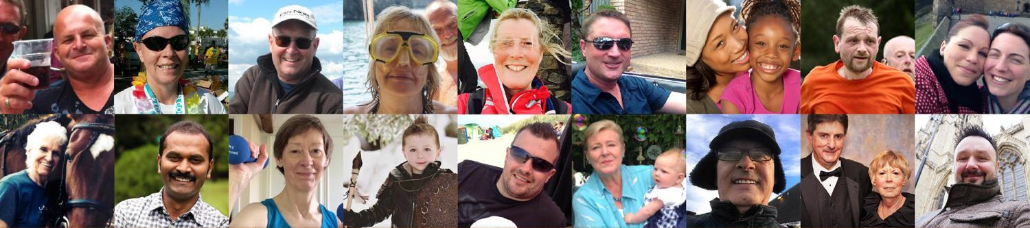 pictures of people affected by bladder cancer