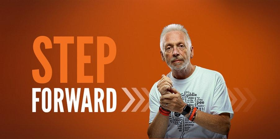 Find out about our Step Forward campaign