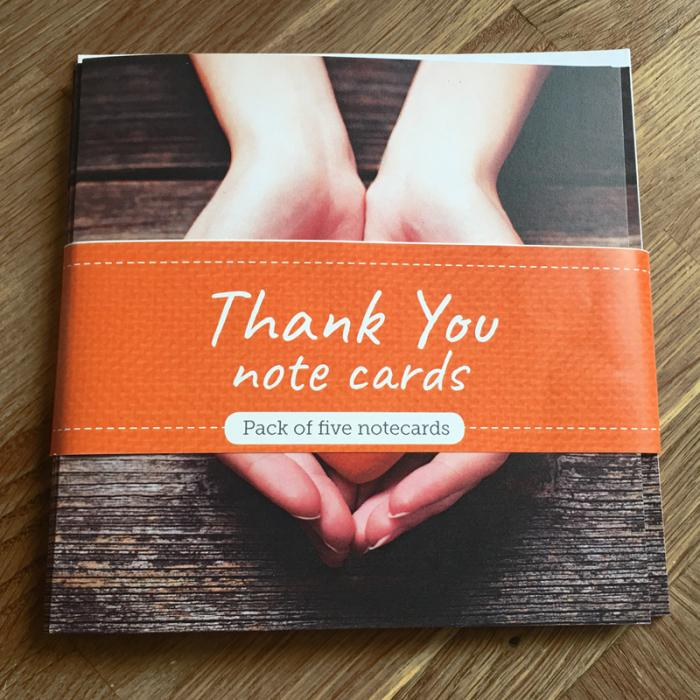 Thank You Note Cards with Envelopes