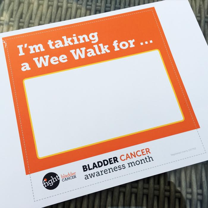 I'm Taking a Wee Walk Sign