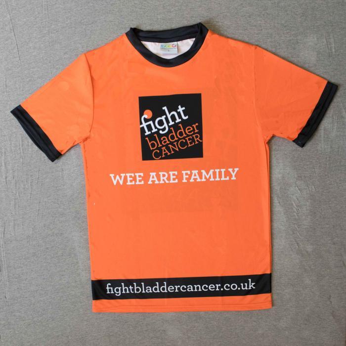 Unisex Sports T-Shirt Orange