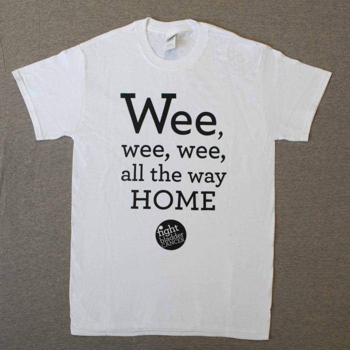 Men's Wee-Wee-Wee T-Shirt White