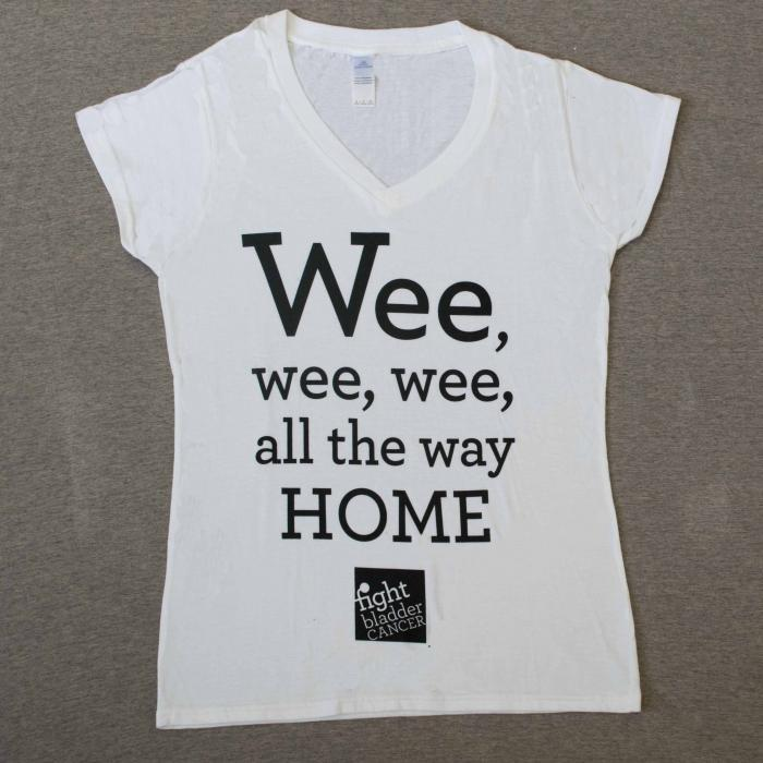 Ladies Wee-Wee-Wee T-Shirt White